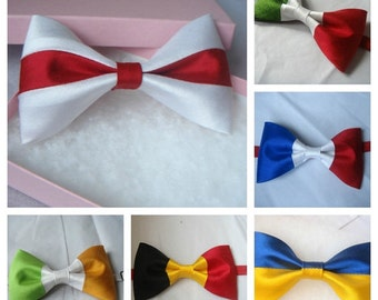 flag bow tie patriotic country national flag