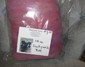 fruit punch wool batt