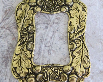NEW Brass Oak Leaf and Acorn Frame 2387B