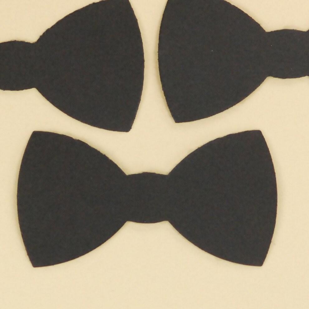 Il Fullxfull Black Bow Tie Cut Scrapbook Embellishment Wedding