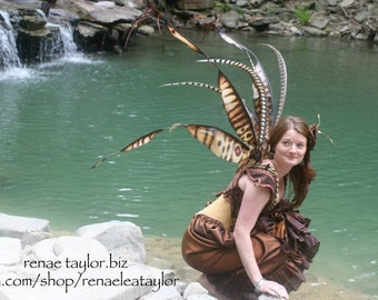 Custom Faerie wings by Renae Taylor  (Extra Large beetle, sprigie)