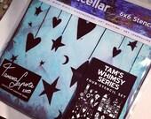 Artistcellar Signature Series Stencils designed by Tamara Laporte - Tam's Whimsy Series