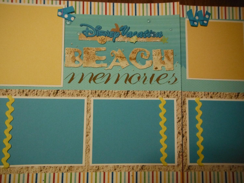 How to scrapbook disney vacation -  19 99