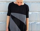 Women shirts,short sleeve shirt, women dress shirts,black tee,design T,womens tops,plus size women tops