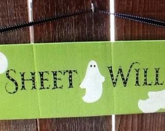 Halloween Ghost Sign
