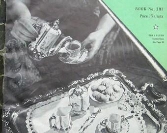 Vintage Clarks Doilies Crochet Pattern Book