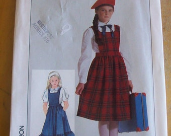 Simplicity 7003  Uniform/ Jumper and Blouse  Sewing Pattern