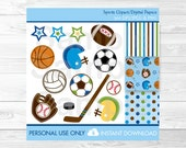 Cute Sports Clipart / Spo...