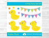 Cute Rubber Duck Clipart ...