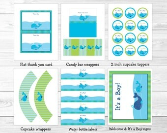 cute whale baby shower party package whale baby shower decorations nautical baby shower
