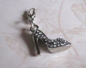 Add a Charm Cell Phone Jewelry High Heel Shoe
