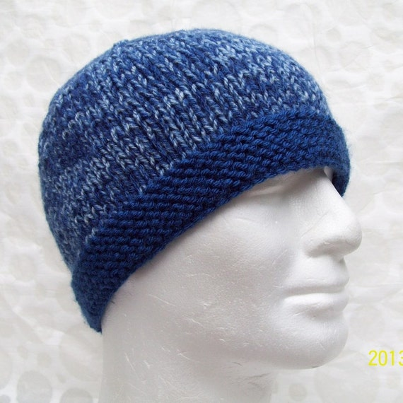 Knitting Pattern For Man s Hat : KNITTING PATTERN/TED Mans Knit Hat Pattern/ Easy Beanie