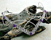 Arwen Amethyst Fantasy Wedding Circlet