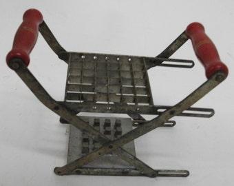 Vintage English Rusty Metal Kitchen Tool