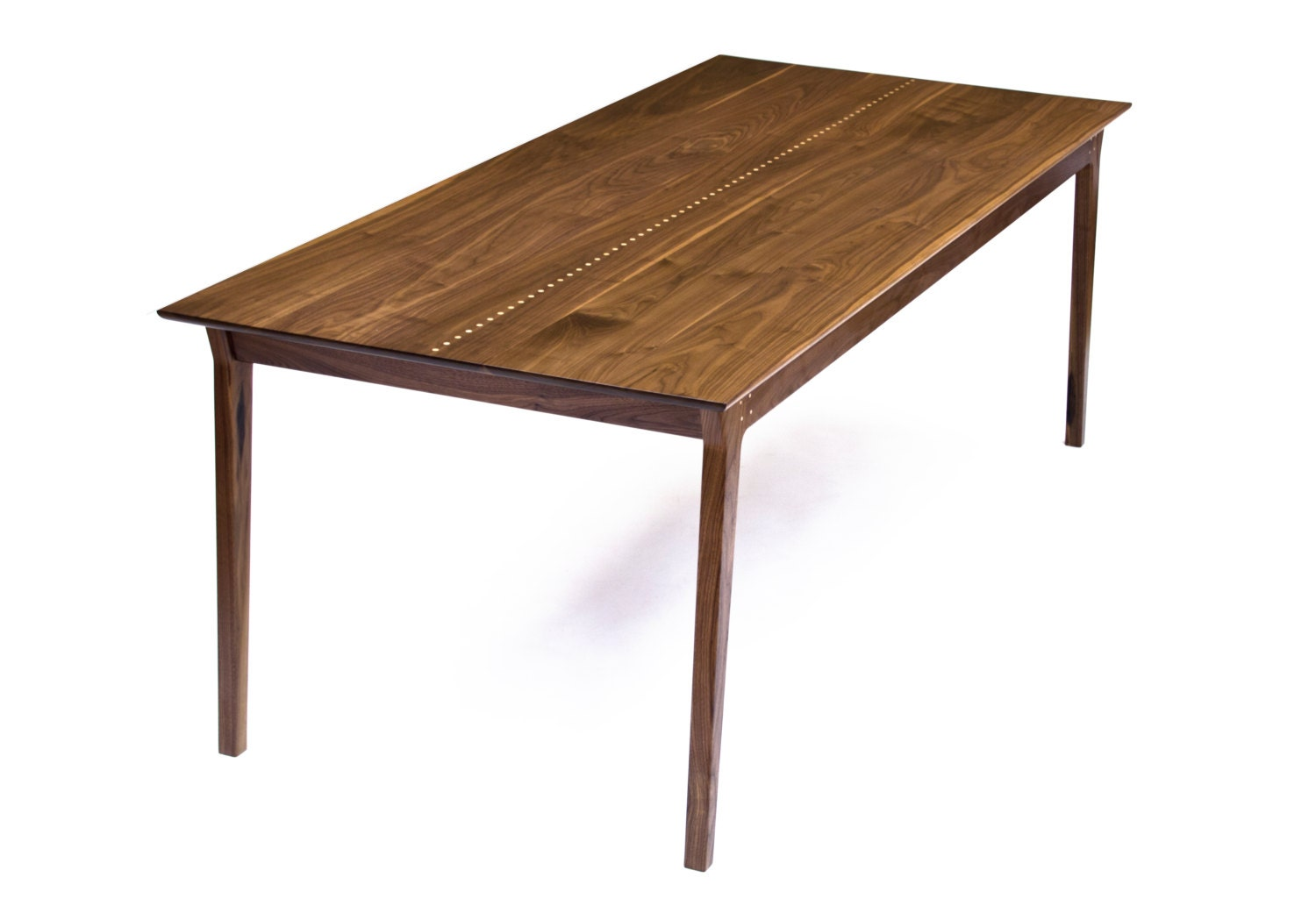 Paxson Dining Table Solid Black Walnut Maple By Wrenandcooper