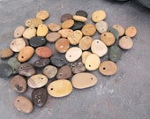 RESERVED -Bulk beach stone charms - hand selected natural Lake Michigan Beach Stones