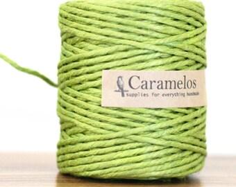 Green Jute Twine cording rope 75 yards