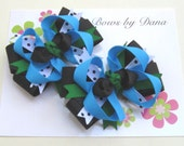 Set of 2 M2MG Fancy Dalmations Toddler Hair Bows