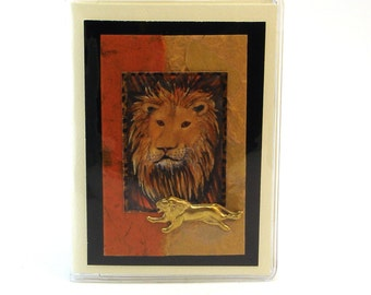 Lion Passport Covers