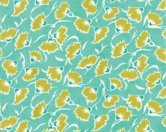 LOL (22236 12) TLC in BFF Turquoise by Me and My Sister - 5.95 per yard