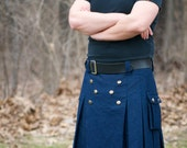 Basic Men's Kilt - Custom made in many colors