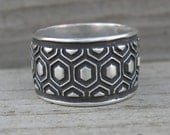 Marceline Ring Sterling Silver Size 7