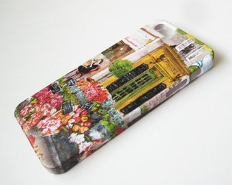French Cafe iPhone 3, 4/4S, 5/5S/SE, 5C, 6 or iPod Touch Case - Hard Shell Phone Cover