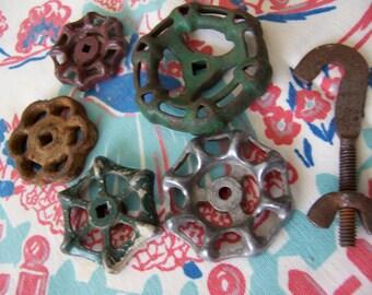 cast iron faucet handles