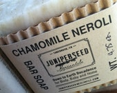 Chamomile and Neroli - All Natural Vegan Cold Process Bar Soap For Men and Women