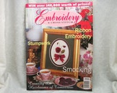 Embroidery and Cross Stitch Magazine - Australia - Vol 3 Number 6 - 1998