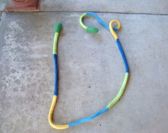 Jump Rope - Blues, Green and Yellow