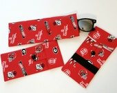 Clearance Sale Georgia Bulldogs Eyeglasses Case