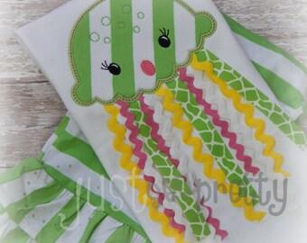 Ribbon Jellyfish Machine Applique Embroidery Design