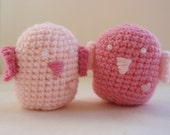 Crochet Love Birds for Valentines Day