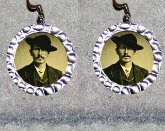 Wyatt Earp Earrings