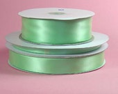 1/4 inch x 100 yds Single Face Satin Ribbon -- MINT