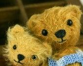 Mohair Bear-OOAK- Miniature