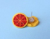LEGO® Pizza Earring Studs