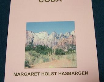 """Book of original poetry with original photography, """"Coda"""", Minnesota author, book of poetry"""