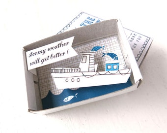 stormy weather boat - The Instant Comfort Pocket Box -