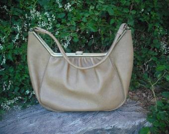 Vintage Purse,  Leather Boho Over the shoulder Purse, Over the Shoulder Bag, Hippie, Large Bag, Fashionista