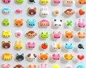 Puffy Animal Stickers SB1