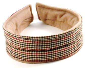 Microwave Heat Pad Headband, Heat for TMJ Headaches Ear Ache, Hot Cold Head Wrap, Heating Pack for Head Jaw Ear, Rice Bag, Gift for Him,