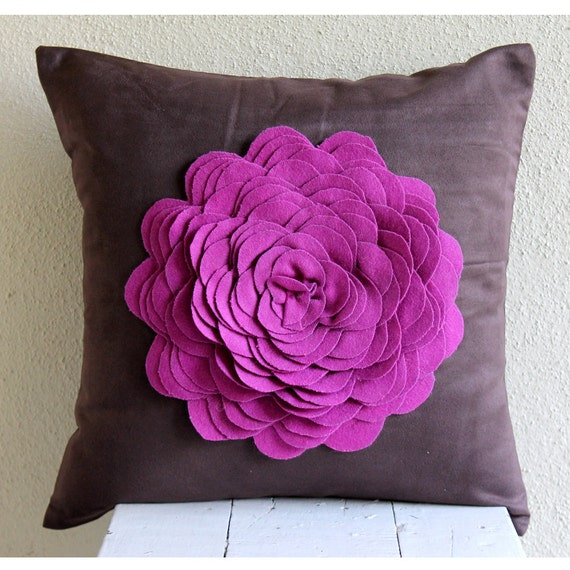Wondrous Decorative Euro Sham Cover Accent Euro Sham Couch Sofa Euro Sham 26X26 Suede Pillow Cover Felt Embroidered Pink Rose Home Living Pillow Case Andrewgaddart Wooden Chair Designs For Living Room Andrewgaddartcom
