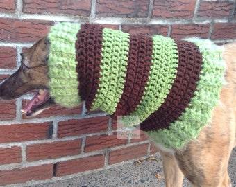 Greyhound Snood with stripes