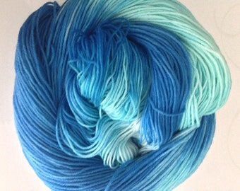 Elsa inspired variegated sock yarn