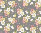 Blend Fabrics • Pippa • Shade garden gray cotton fabric 001906