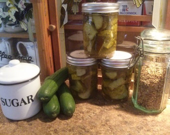 Icicle Cucumber Pickles