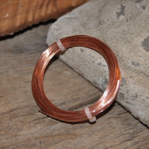16 ga Solid COPPER Wire - Great for clasps and large rings, can be soldered