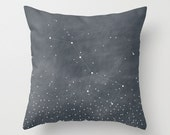 "Ursa Major Stars Constellation Throw Pillow Cover // decorative pillow // accent pillow // cushion cover // home goods // ""Big Dipper"""